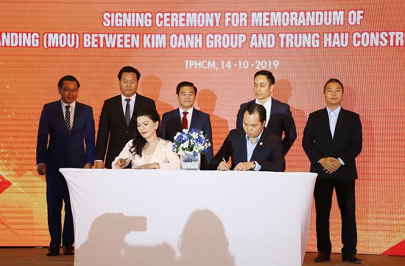 Tập Đoàn Kim Oanh Group hợp tác chiến lược với OCB, CornerStone Việt Nam và Trung Hậu