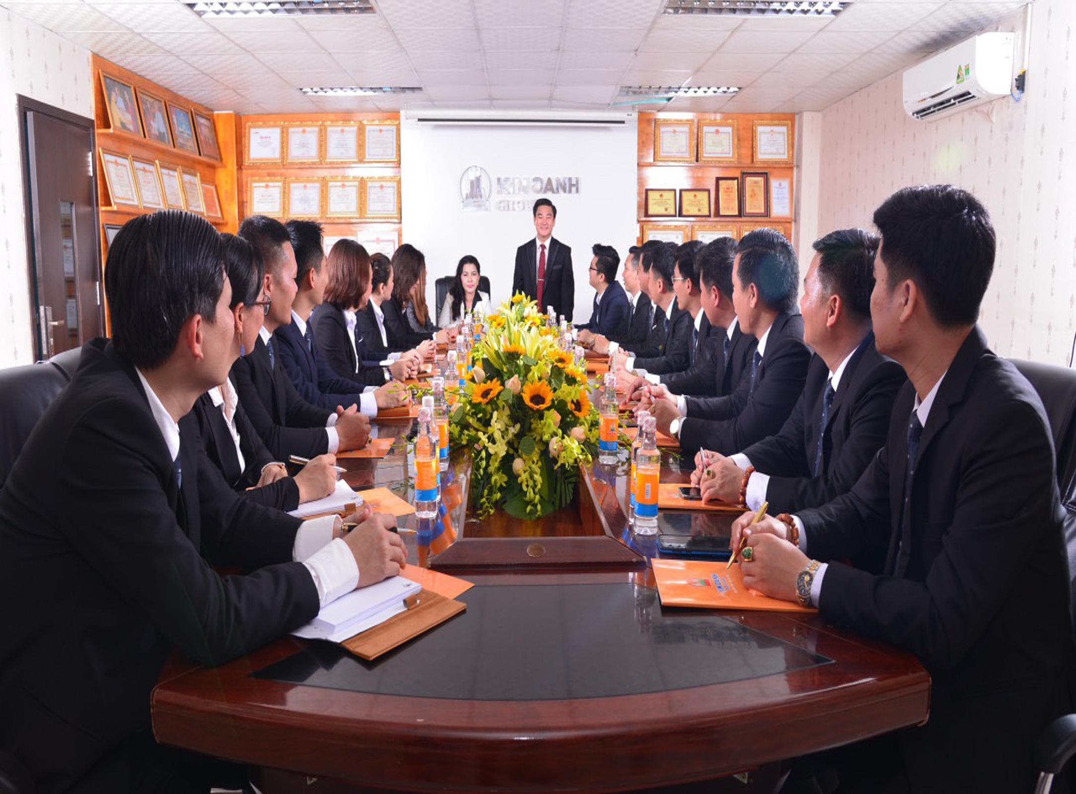 Đào tạo lãnh đạo Tập đoàn Kim Oanh